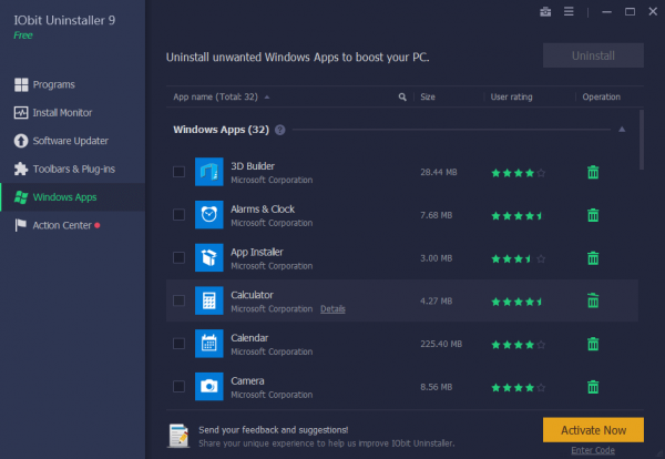 IObit Uninstaller Pro 9.5.0.6 Crack + Reg Key Latest Version Download