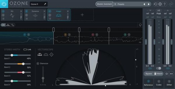 iZotope Ozone windows